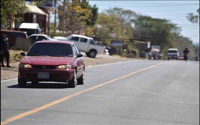 FOVIAL entrega obras de mejoramiento en entrada a La Unión