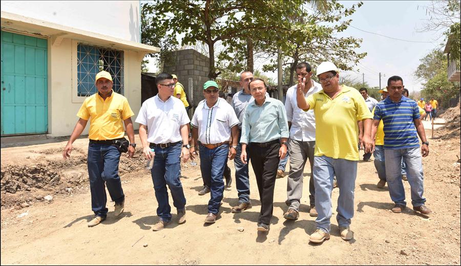 Acajutla: Obras en Comunidad El Milagro mejorarán calidad de vida de 2 mil habitantes