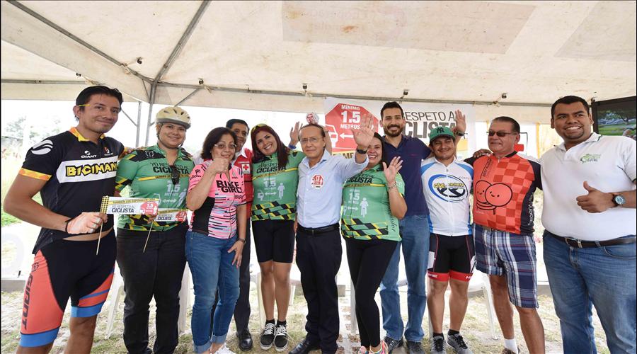 MOP se une a campaña de respeto al ciclista