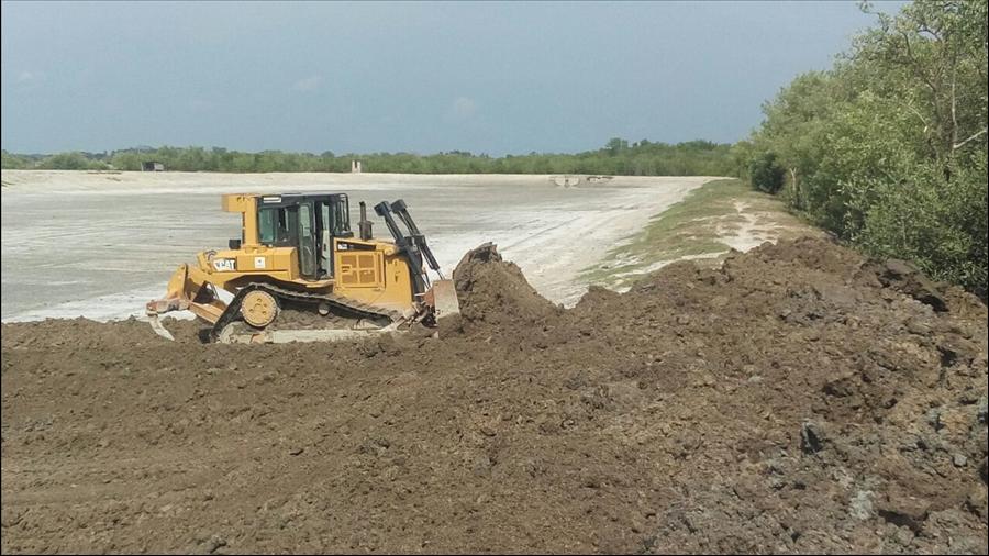 MOP construye 19 reservorios para captación agua lluvia en diferentes puntos de Santa Elena, Usulután