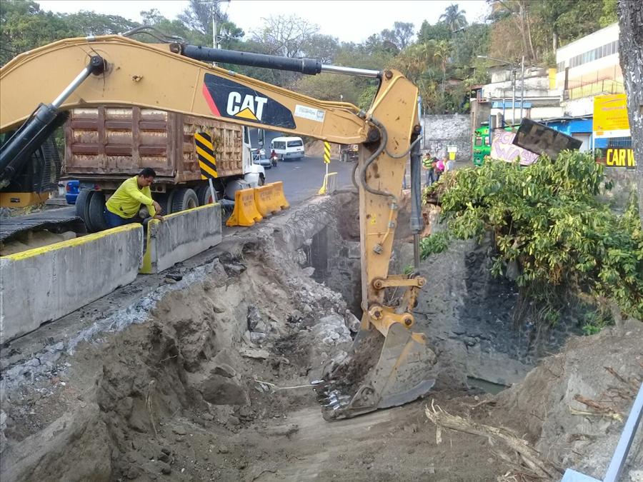 MOP inicia  ampliación de Puente El Zapote, San Jacinto, San Salvador