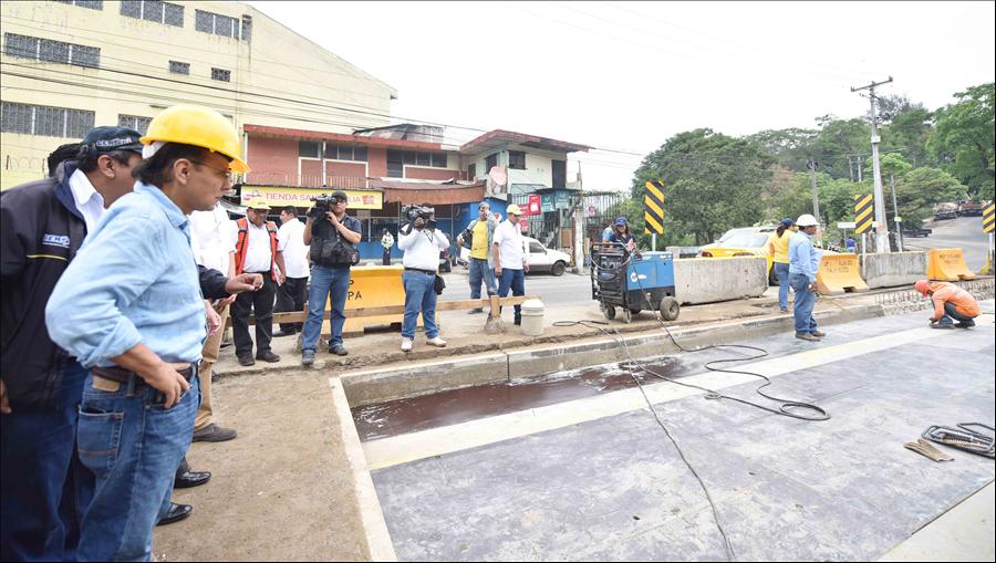 MOP avanza en ampliación de Puente El Zapote, San Jacinto, San Salvador