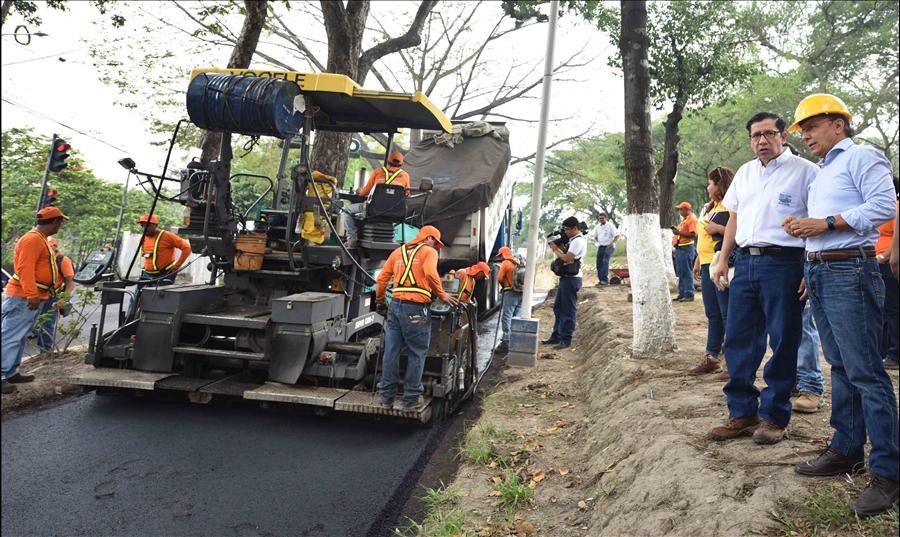 MOP por finalizar obras de ampliación en zona El Zapote, San Jacinto