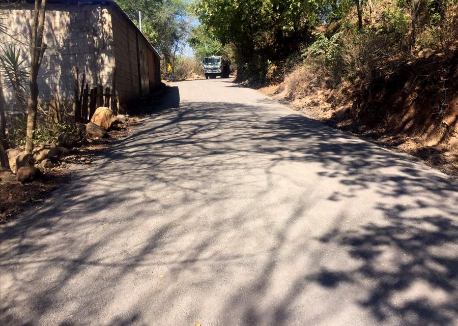 MOP concluye pavimentación de 3. 5 kilómetros de calles de Jucuarán, Usulután