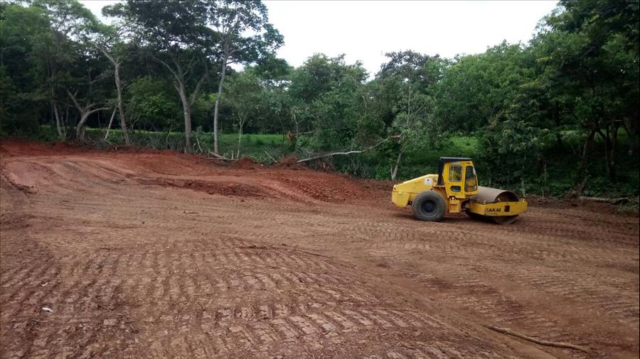 MOP inicia pavimentación de 3.3 kilómetros de ruta Arambala al Caserío El Mozote, Morazán