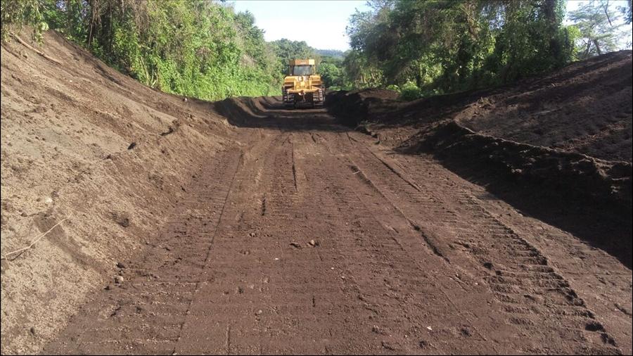 MOP por finalizar obras de dragado y construcción de bordas en Quebrada Hacienda Nueva, Concepción Batres, Usulután