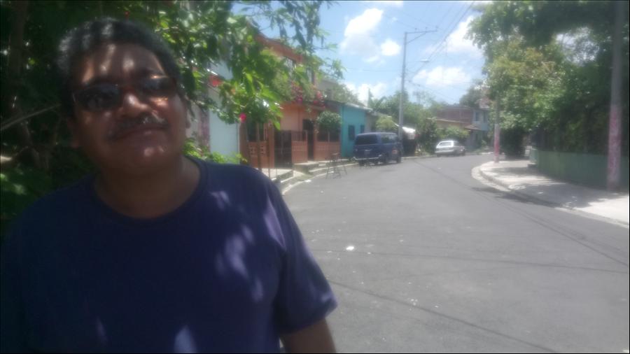 Familias beneficiadas en Soyapango con obras de pavimentación