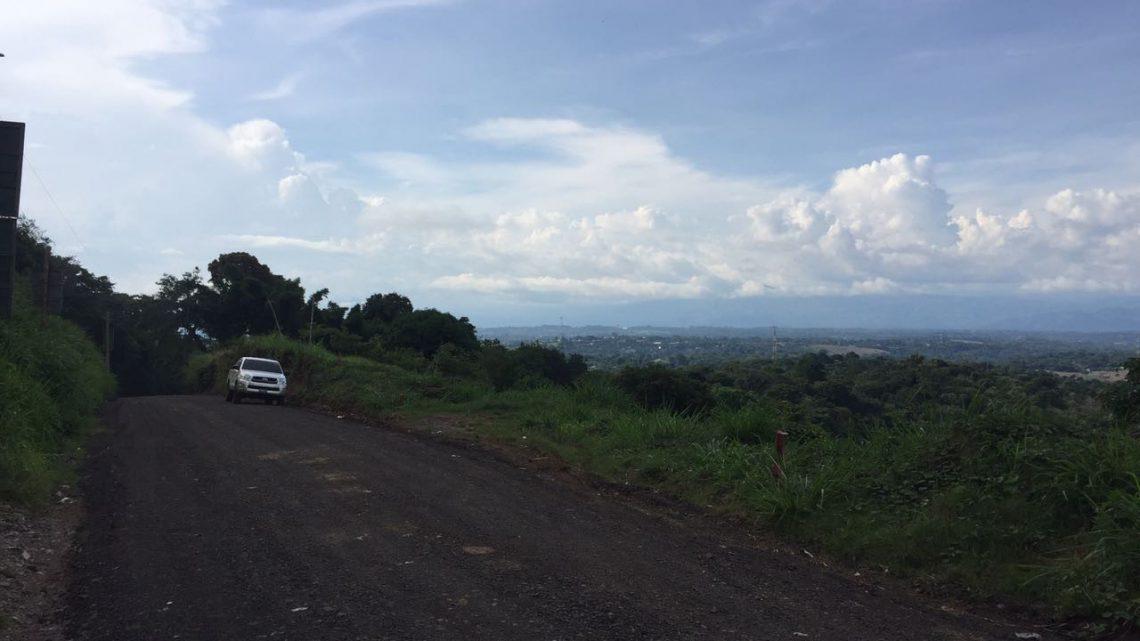 MOP pavimenta 1.2 kilómetros de zona turística en Ahuachapán conocida como Ruta Térmica