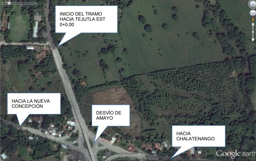 MOP inicia rehabilitación de 6.6 kilometros de carretera Troncal del Norte Amayo-Tejutla, Chalatenango
