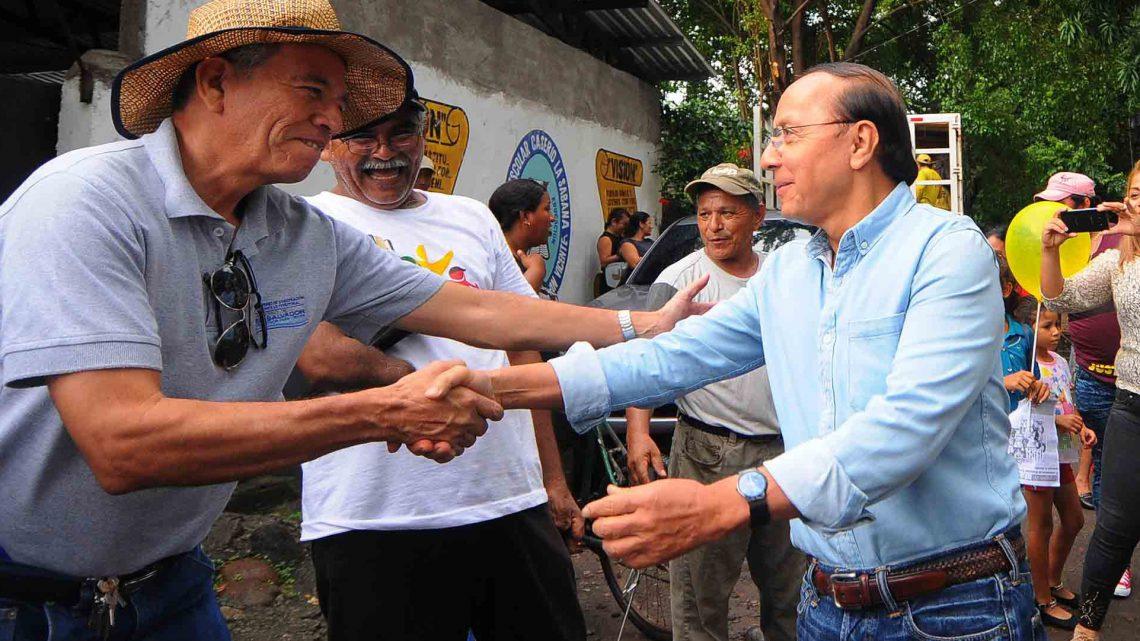MOP entrega obras en La Pita, Tecoluca, San Vicente