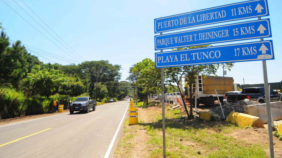 MOP inicia Tramo II de Ampliación a 4 carriles Carretera al Puerto La Libertad