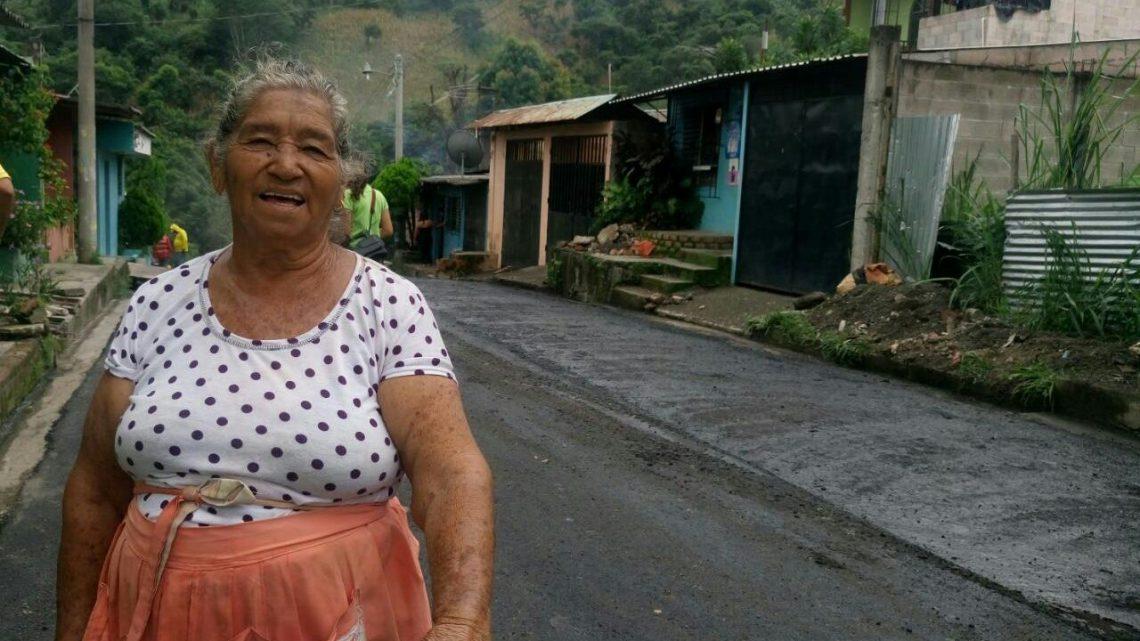 Mejoras de vida en colonia Santa Rita, Ciudad Delgado