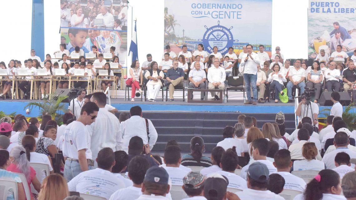 MOP informa sobre proyectos estratégicos de ampliación Carretera al Puerto La Libertad