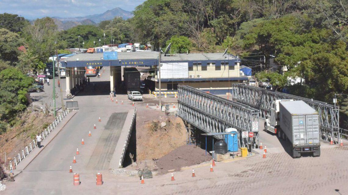 MOP habilita paso por puente provisional instalado en frontera binacional Aguiatú, mientras se construye nuevo puente