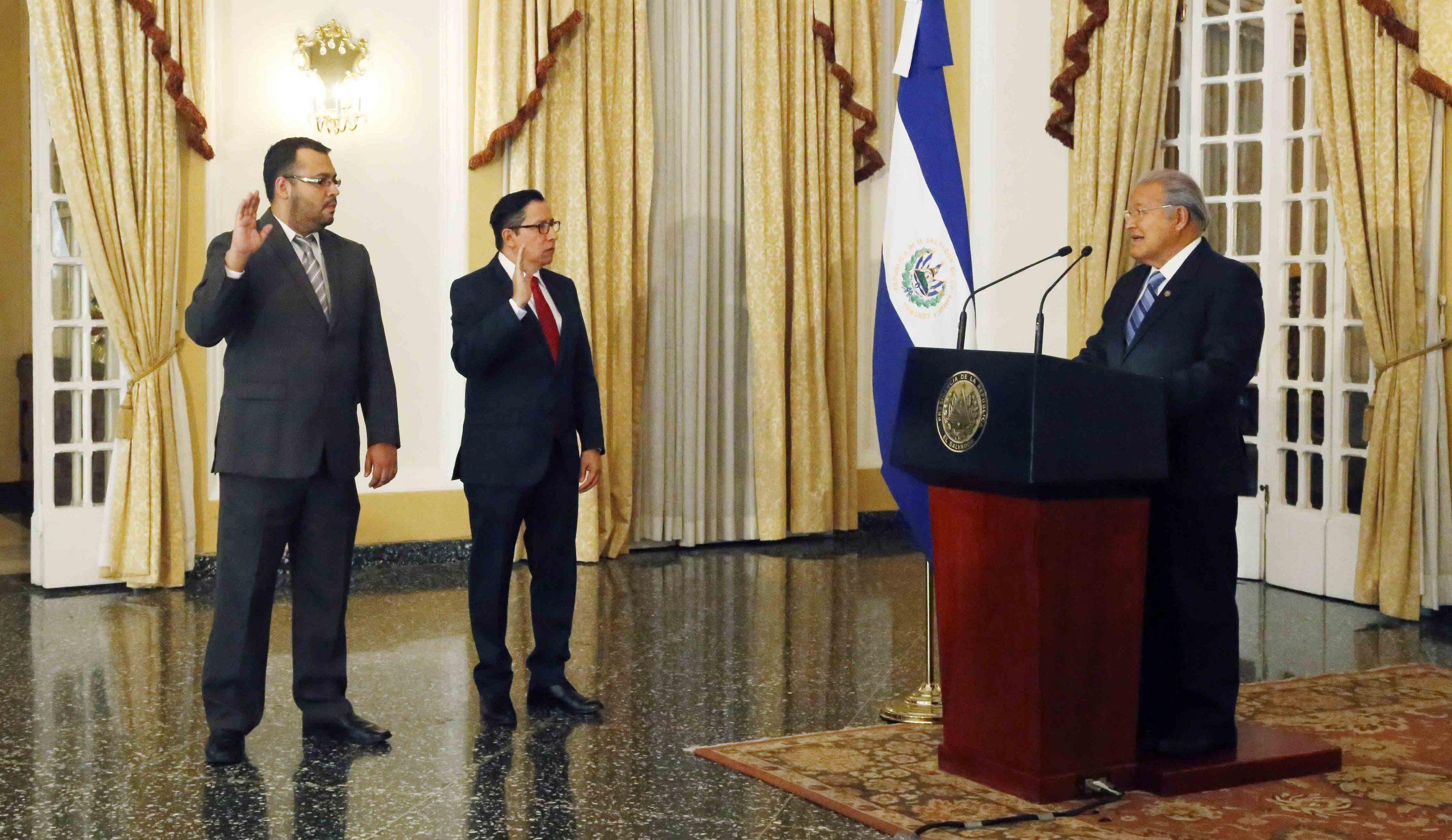 Presidente de la República juramenta a nuevos titulares de Obras Públicas