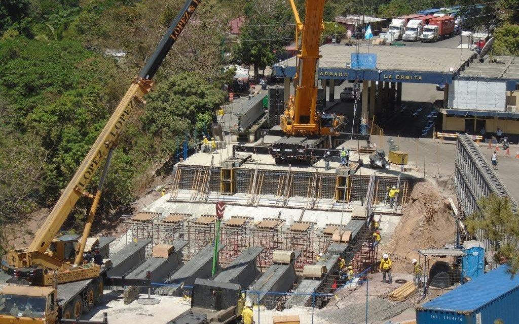MOP avanza en construcción nuevo puente fronterizo Anguiatú, Metapán, Santa Ana