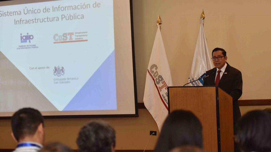 MOP participa en lanzamiento Sistema Único de información de Infraestructura Pública
