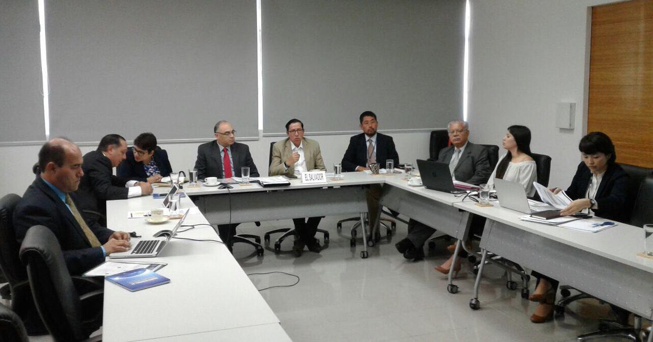 El Salvador retoma coordinación trabajos Comisión Técnica regional de Movilidad y Logística