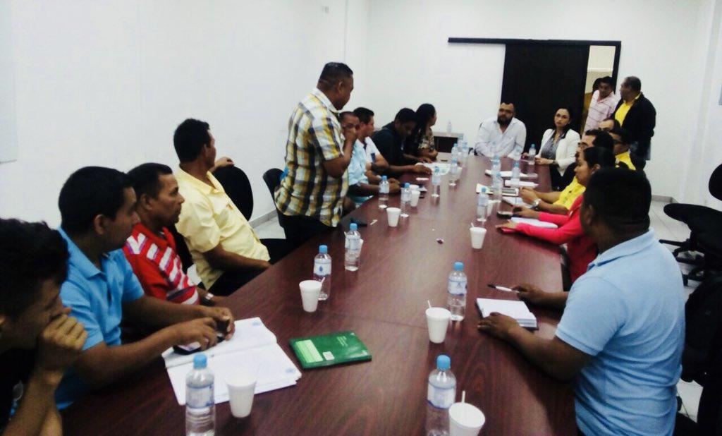 MOP se reúne con comunidades de San Juan Nonualco, La Paz