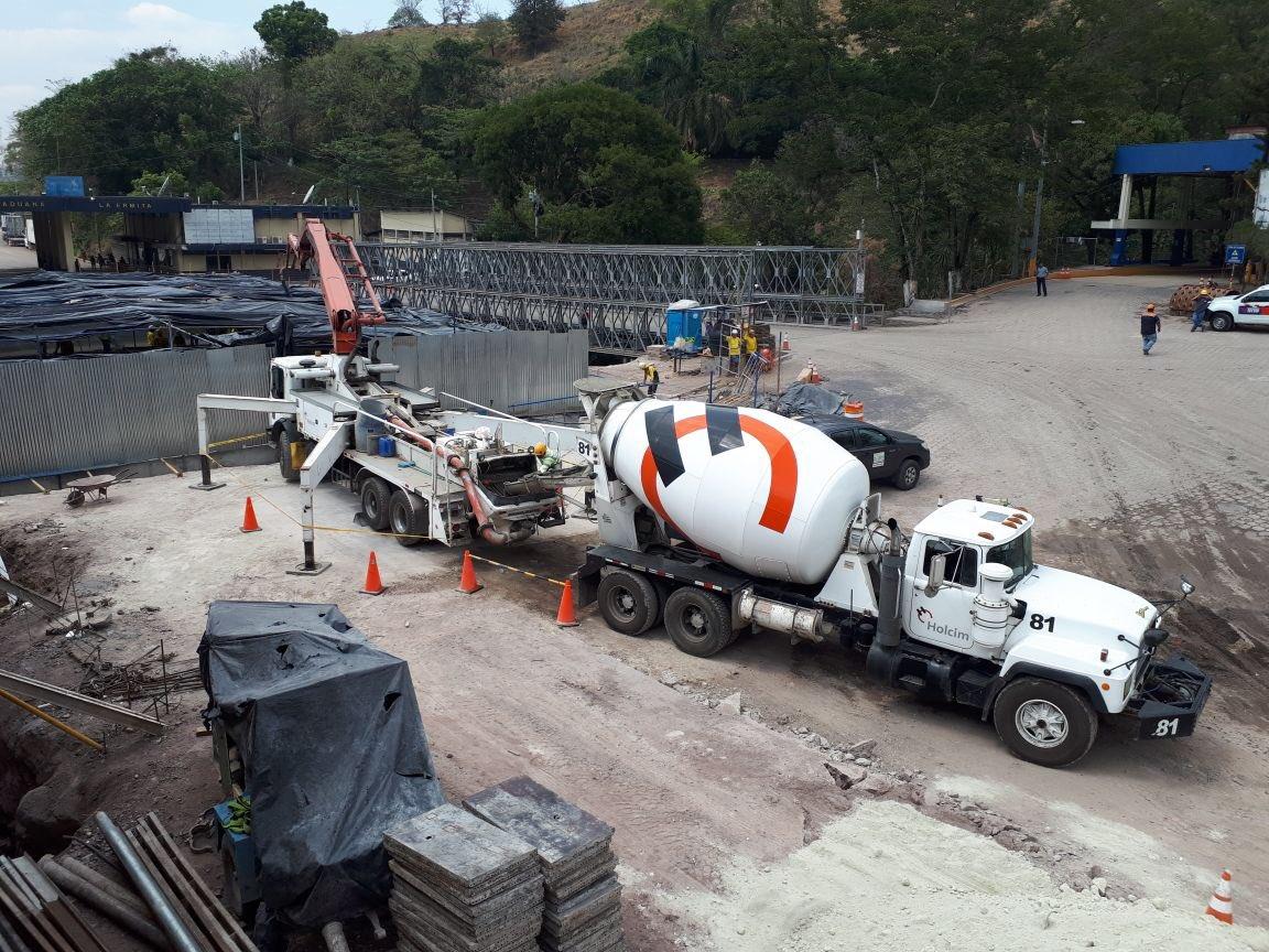 65 % de avance en construcción nuevo puente fronterizo Anguiatú   Metapán, Santa Ana