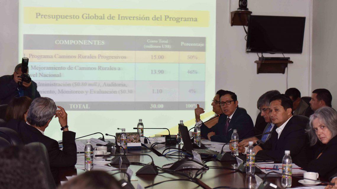 MOP acude nuevamente a Asamblea Legislativa para explicar destino de fondos provenientes de España