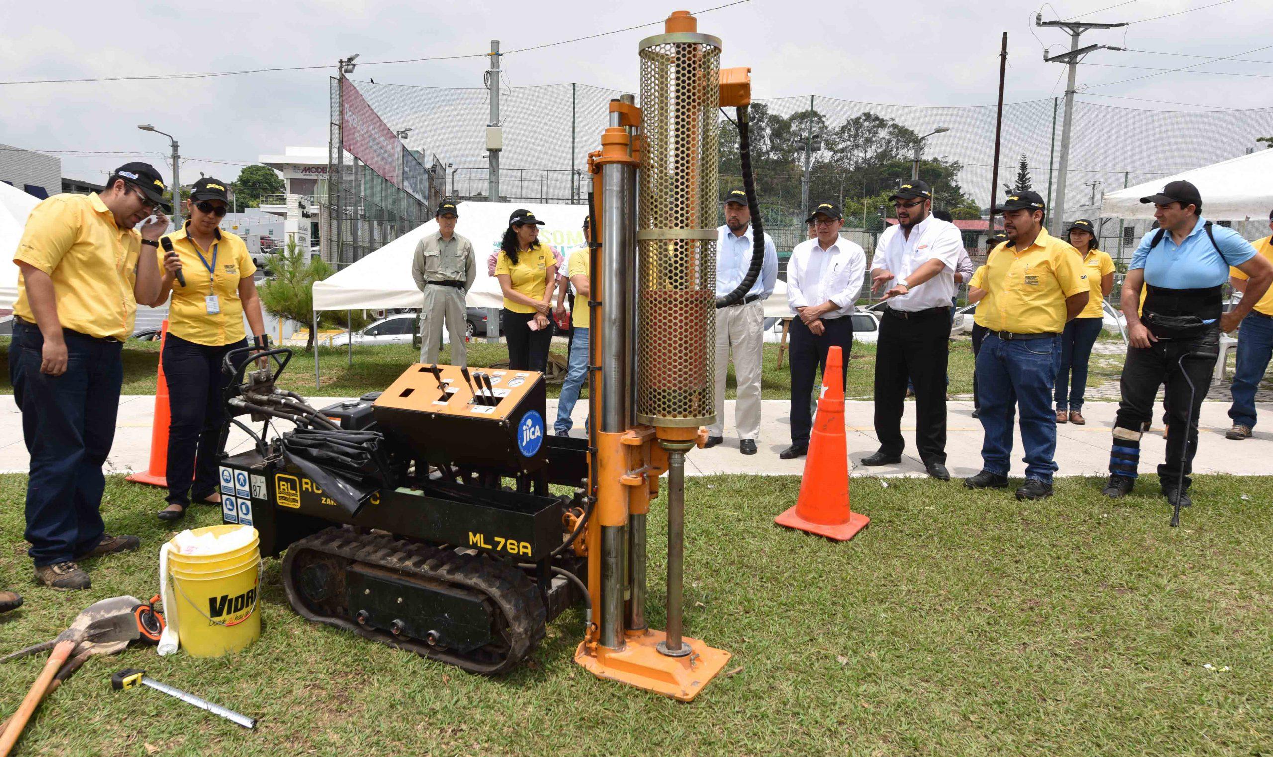 MOP recibe de Japón donación de equipos y software especializados