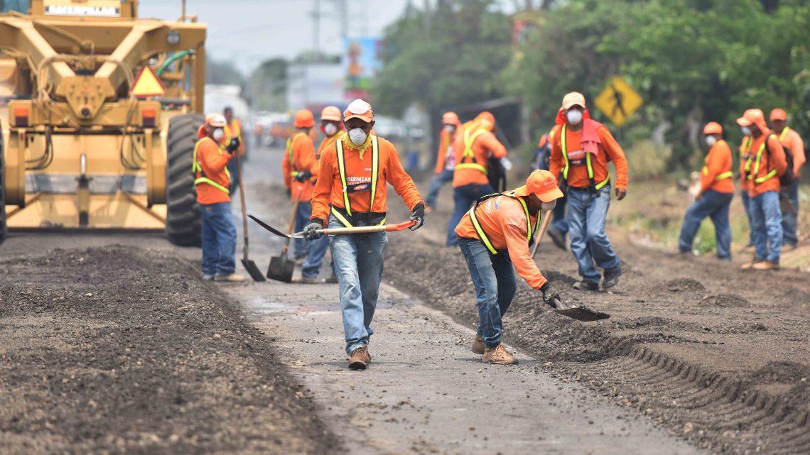 Supervisión de trabajos viales en zona urbana Lourdes Colón y dispositivo vehicular