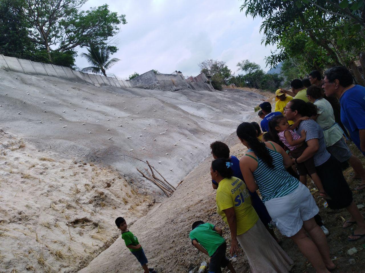 MOP concluye fase II obras de protección Jardines de Monte Blanco, Soyapango, San Salvador