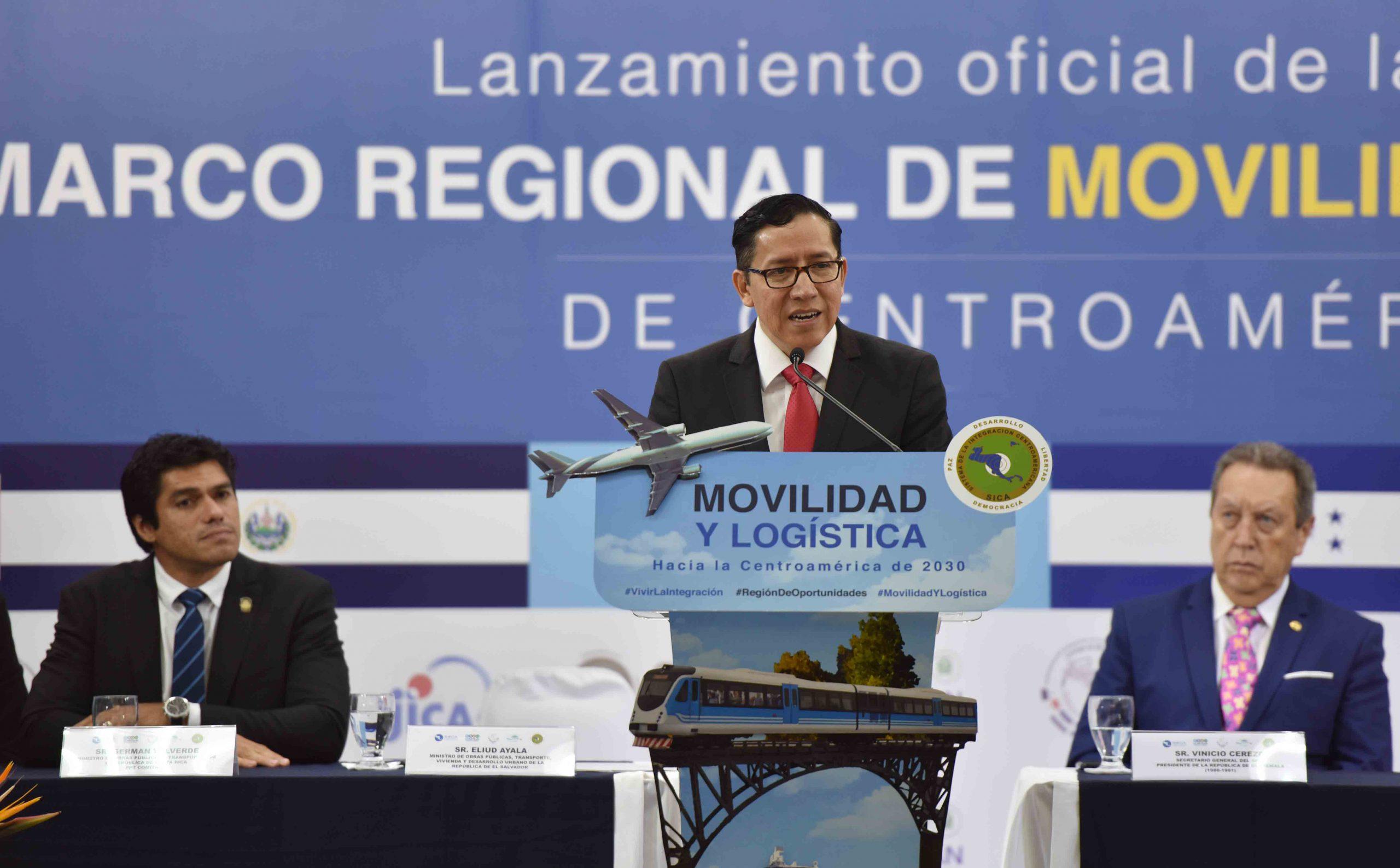 Discurso Ministro de Obras Públicas, en el lanzamiento de la Política Marco Regional de Movilidad y Logística de Centroamérica.
