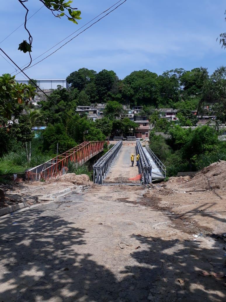 MOP por concluir construcción Puente Los Almendros, Ciudad Delgado