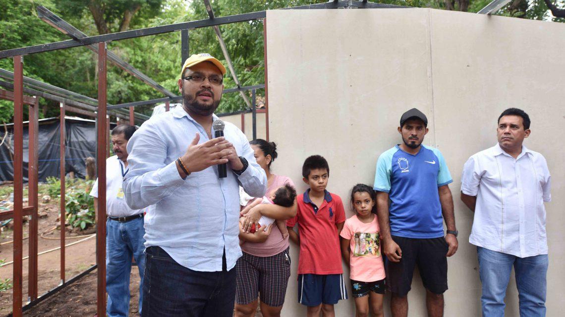 Gobierno inicia construcción de vivienda desmontables para afectados por sismos