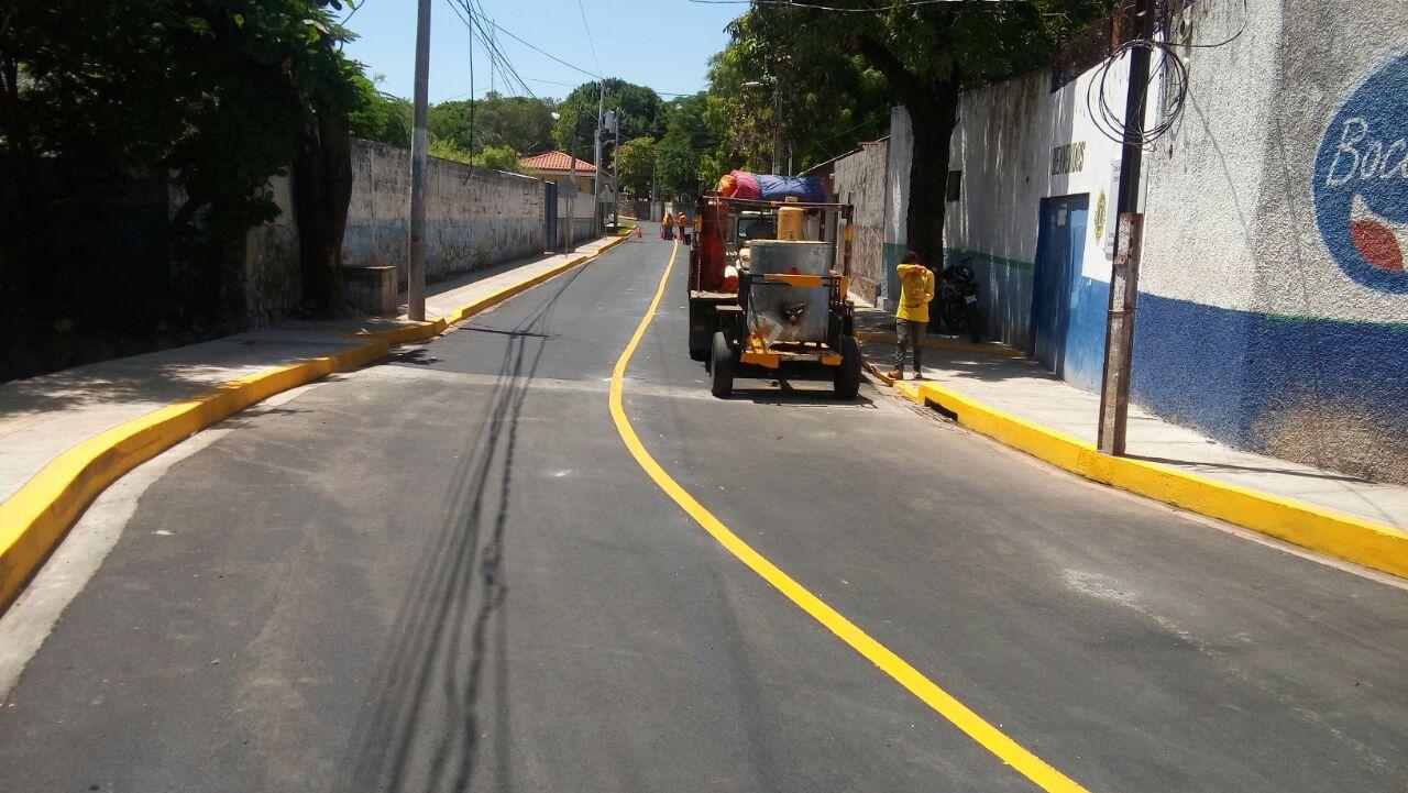Por concluir mejoramiento calle de acceso al Malecón La Unión