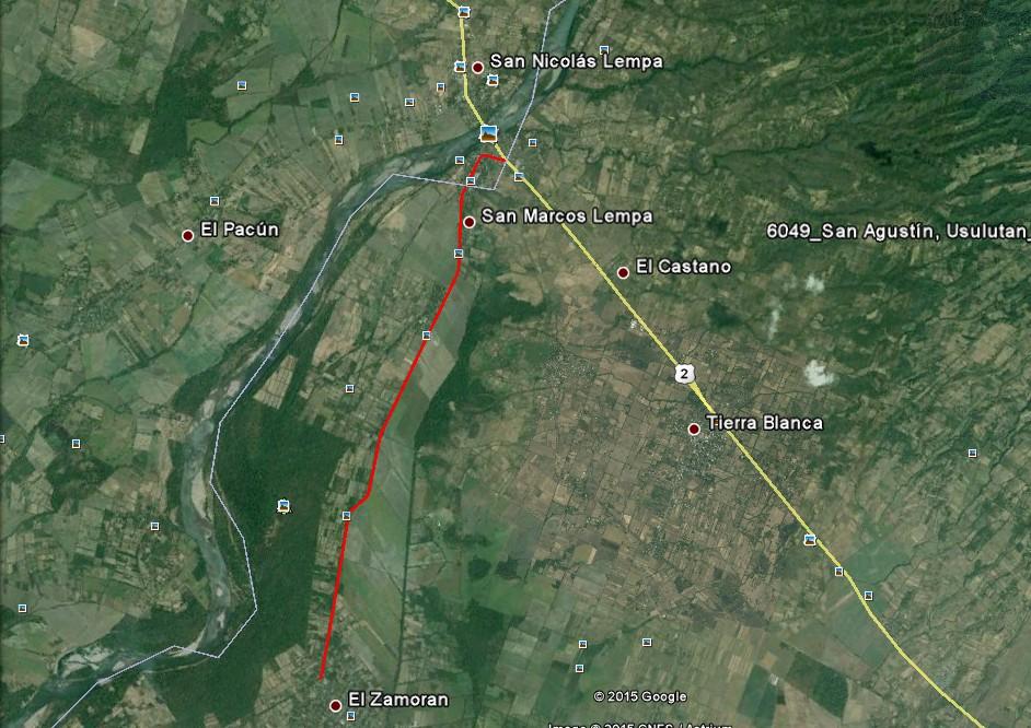 MOP inicia diseño y construcción de proyecto de pavimentación, Desvío San Marcos Lempa-Desvío El Zamorán, Jiquilisco, Usulután