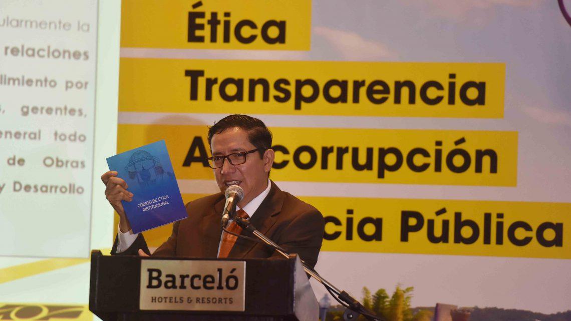 MOP realiza lanzamiento de Código de Ética Gubernamental