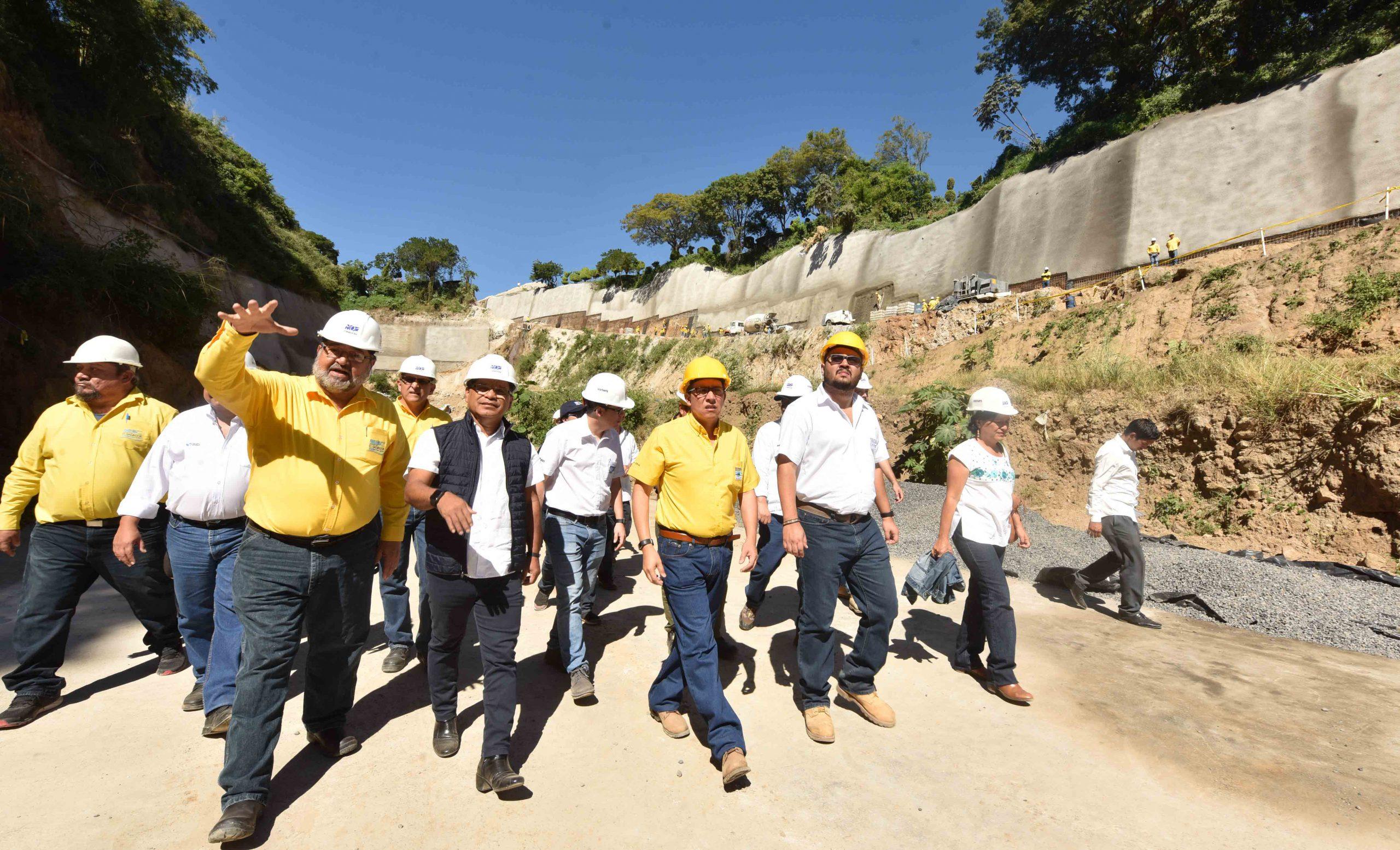 49% de avance construcción de primera laguna de laminación en Centroamérica para   prevenir inundaciones en sector Sur de San Salvador