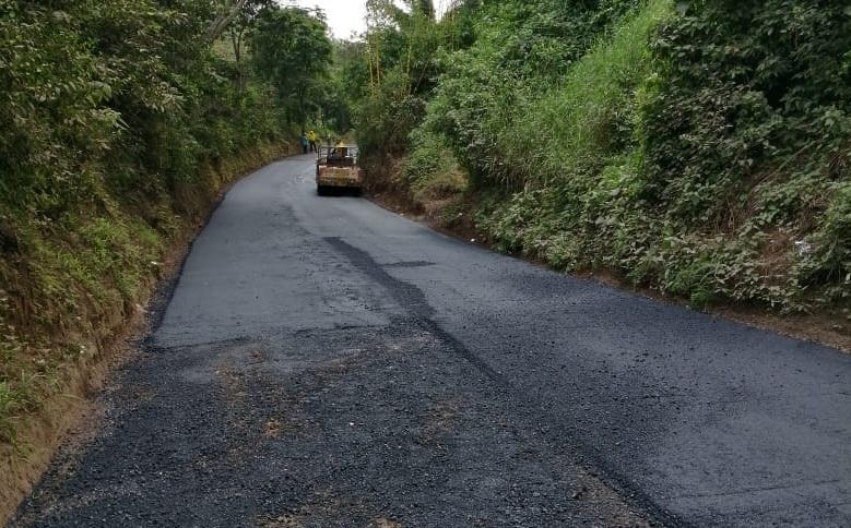 MOP pavimenta 1 km de calle que conecta a Nuevo Cuscatlán con Huizúcar