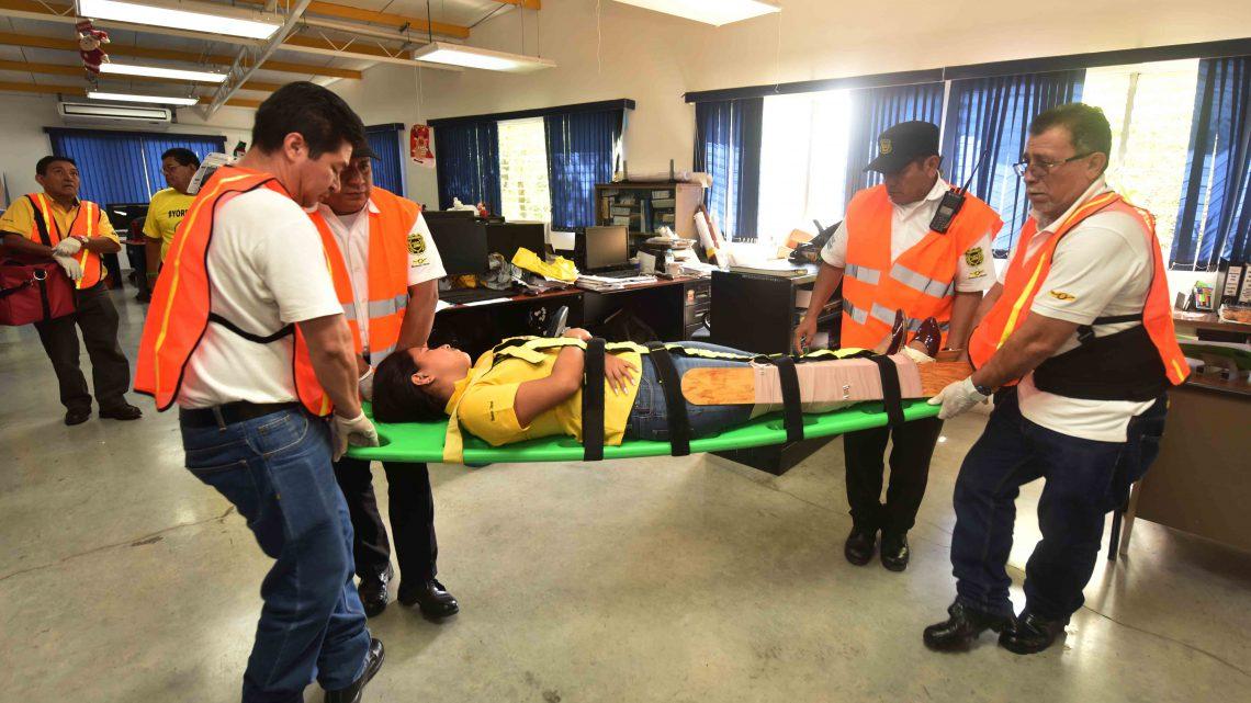 MOP realiza 3º. Simulacro Nacional de Terremoto en instalaciones ministeriales