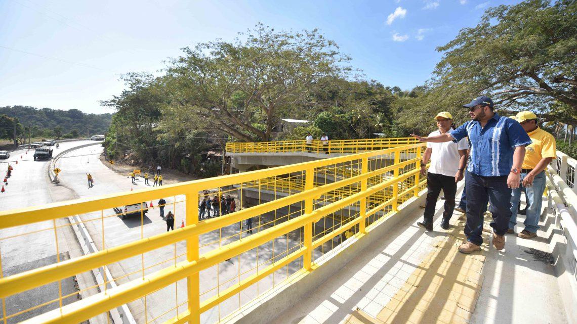 MOP entrega 8.7 kilómetros finalizados del proyecto de Ampliación a 4 carriles de Carretera al Puerto de La Libertad