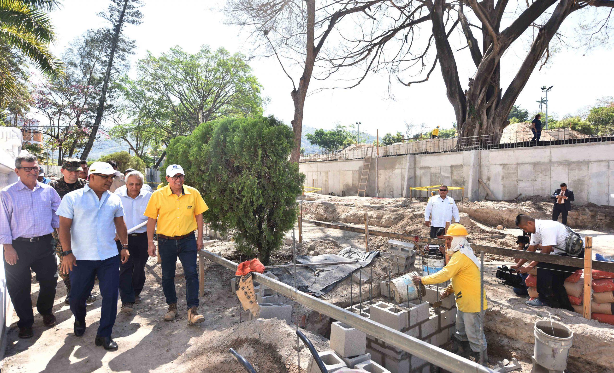 Avanza construcción Complejo Cultural y Recreativo San Jacinto, Fase 1A