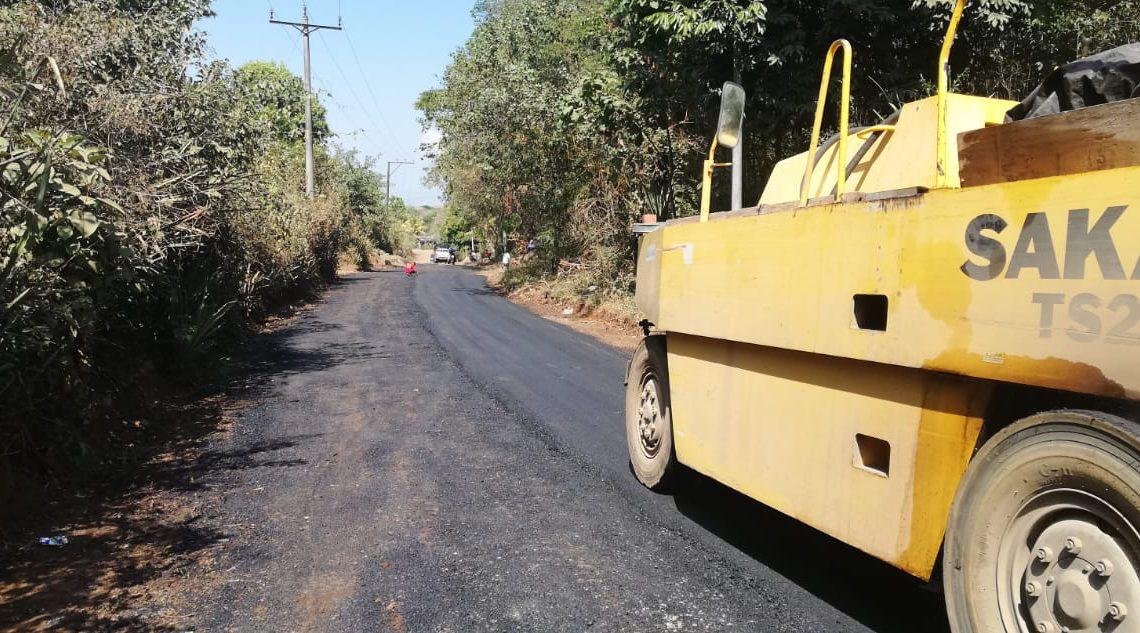 Concluye pavimentación de 2 kilómetros de Ciudadela Ungo, Suchitoto
