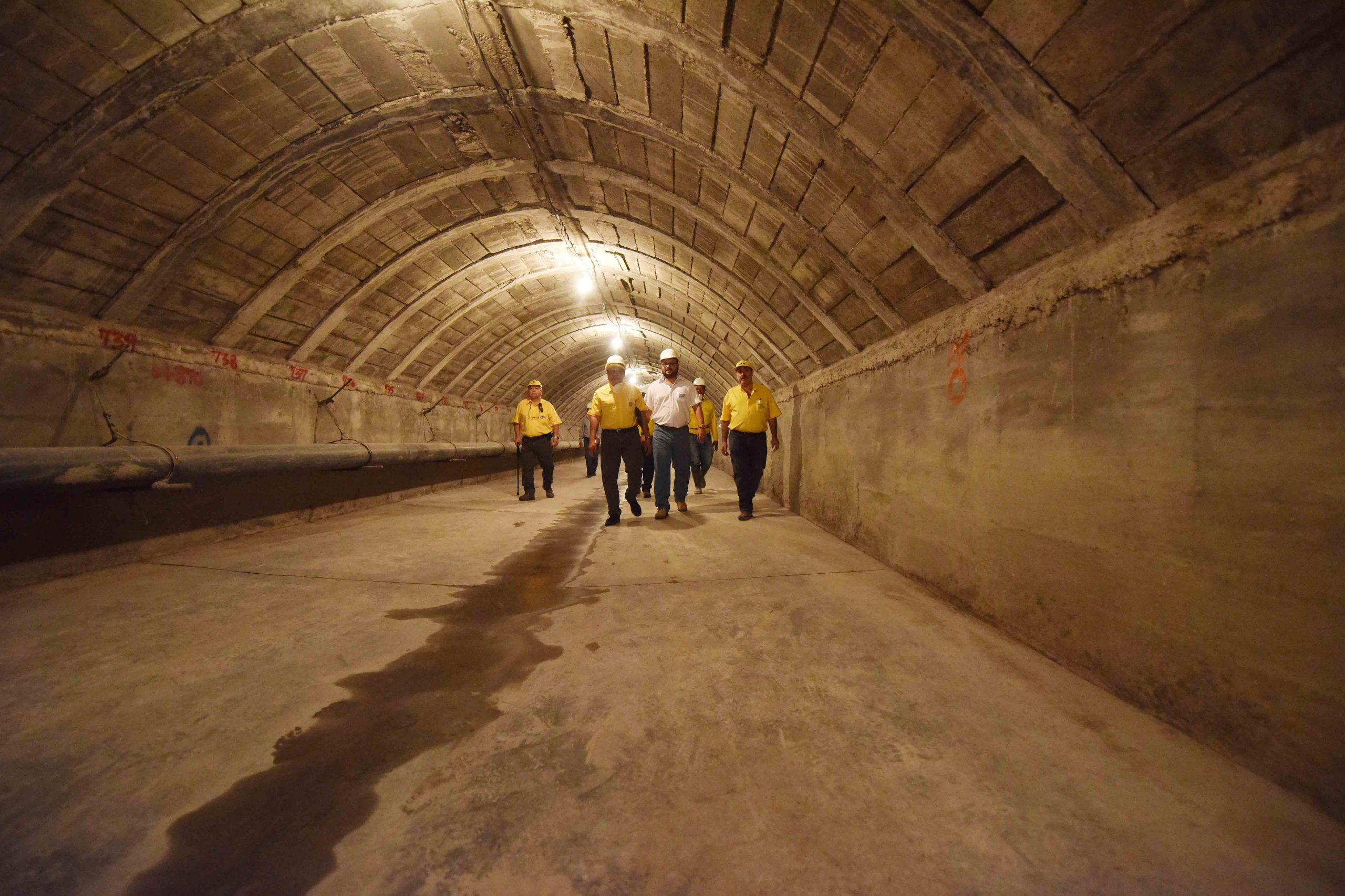 Reparaciones en bóveda de Quebrada Chilismuyo por concluir