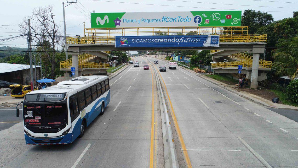 98% de avance ampliación autopista al Puerto de La Libertad