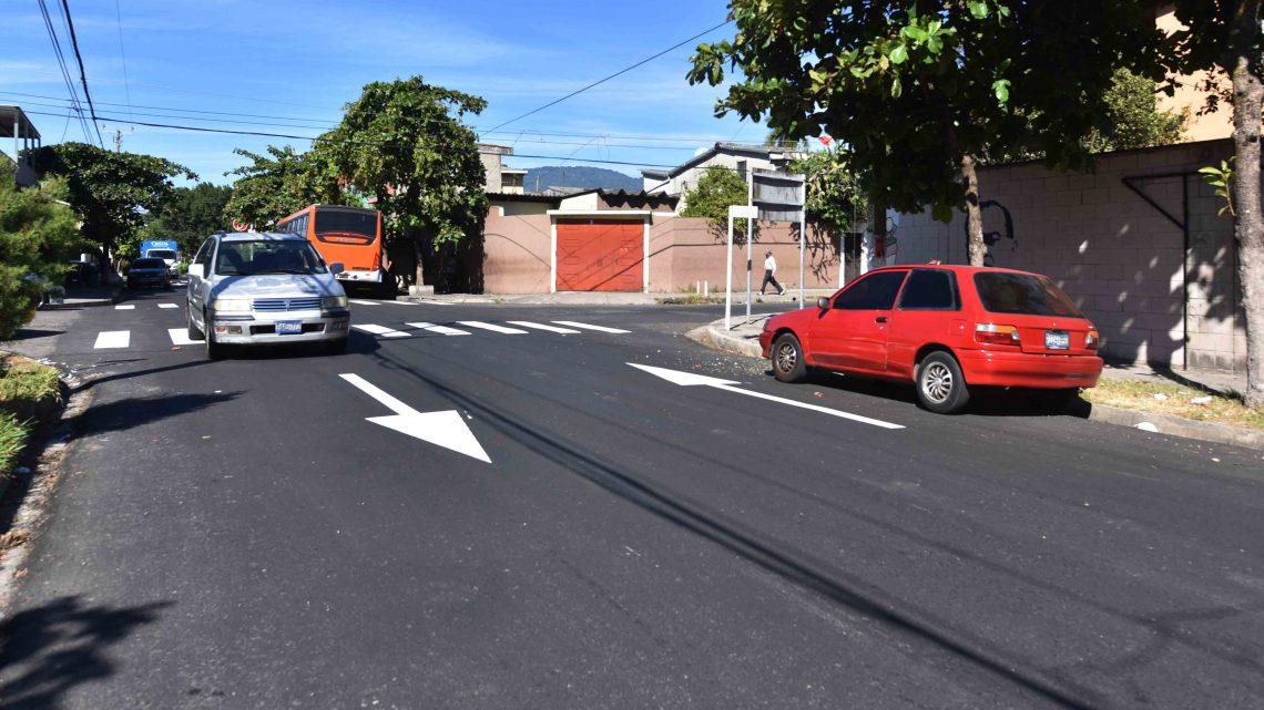 Más de 2,500 km de calles transformados a través de convenios de cooperación con las municipalidades