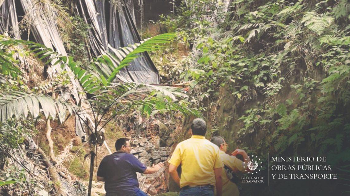 MOP atiende llamado de comunidad en Nuevo Cuscatlán