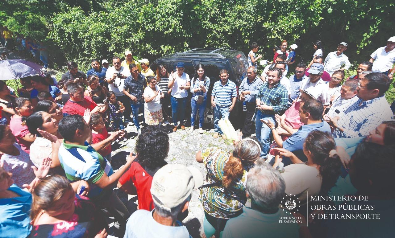 MOP gestiona construcción de puente en Guadalupe, San Vicente