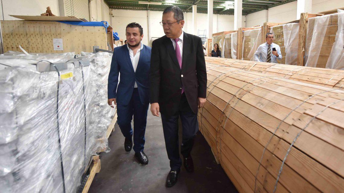 MOP recibe luminarias LED del Gobierno de Japón
