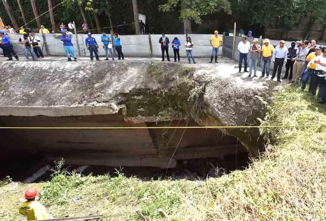 MOP inicia proceso de licitación construcción obras de protección en Residencial Brisas de San Francisco, San Salvador