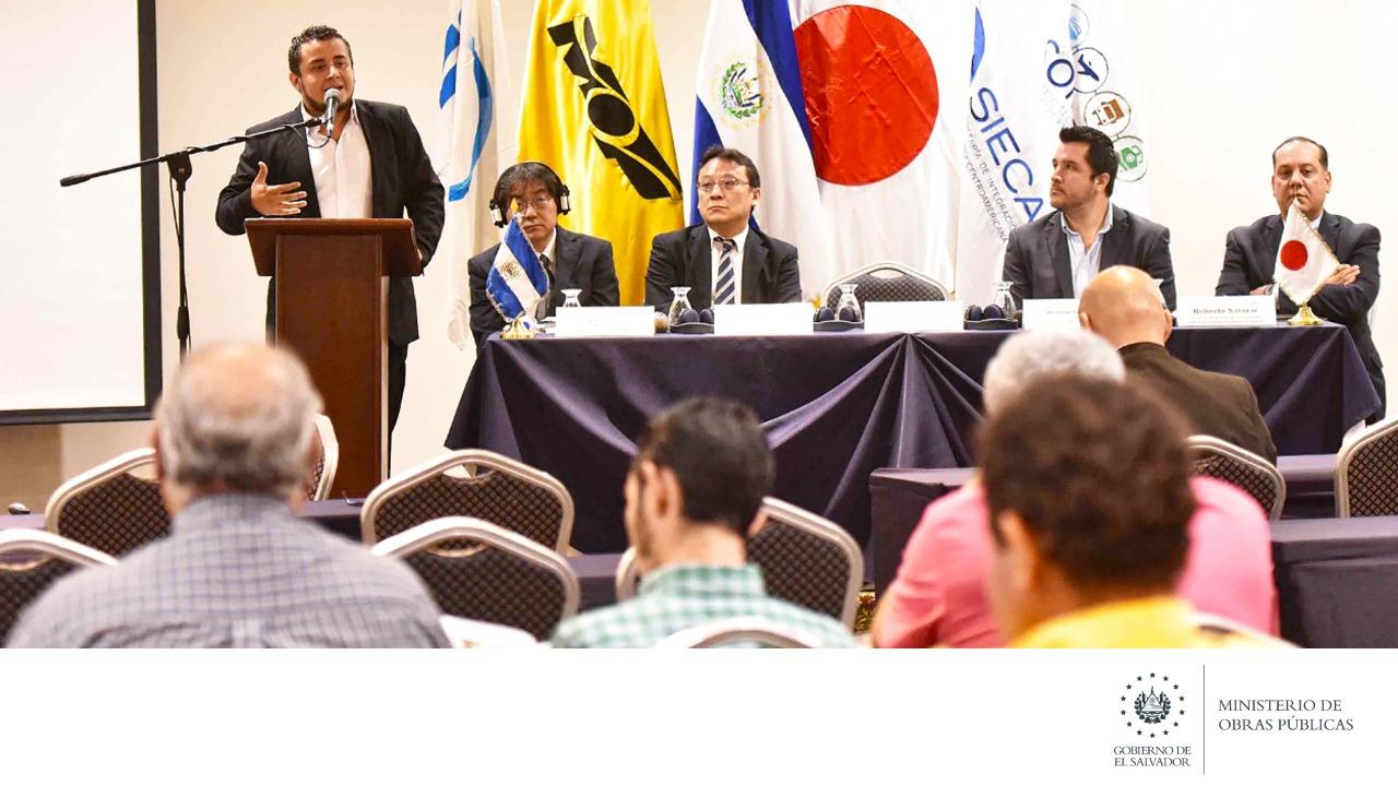 MOP-JICA difunden manual de consideraciones con enfoque de gestion de riesgos para infraestructura vial centroamericana