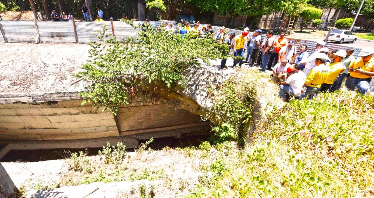 MOP adjudica construcción obras de protección en Residencial Brisas de San Francisco, San Salvador