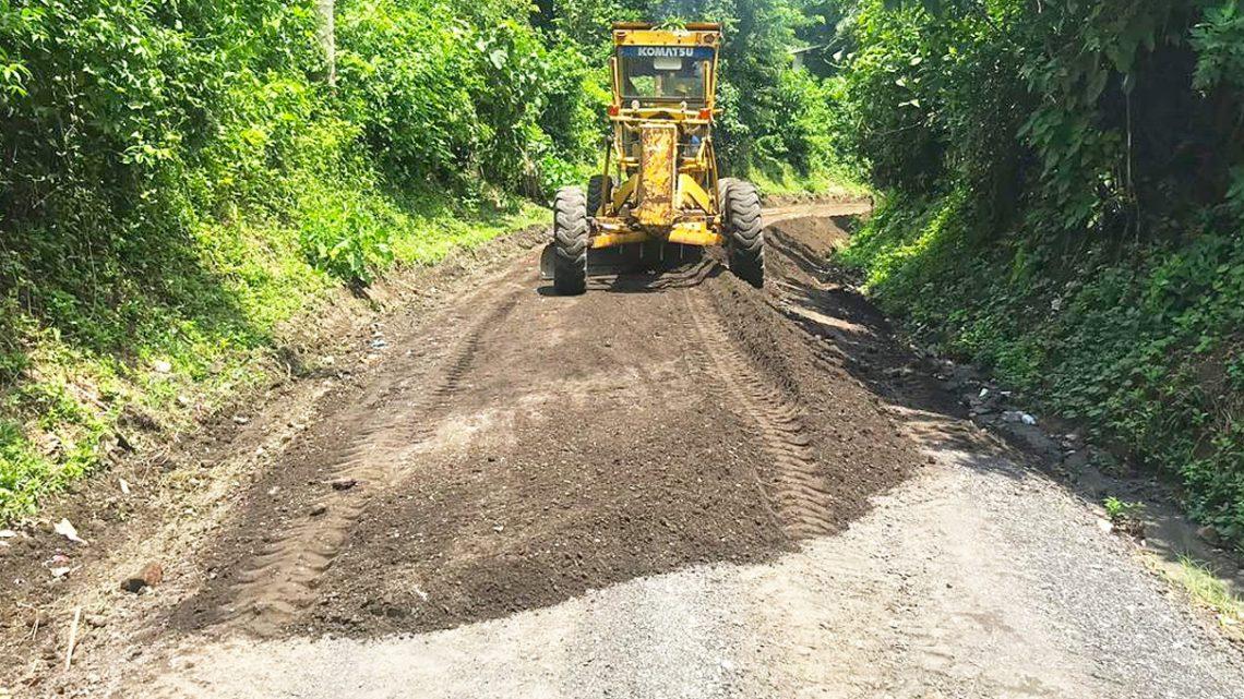 MOP inicia obras de mejoramiento de 4.5 kilómetros de calle en Santiago Texacuangos, San Salvador